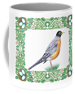 Robin In Spring Coffee Mug