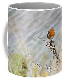 Robin Resting Coffee Mug