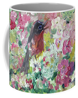 Robin Singing Coffee Mug
