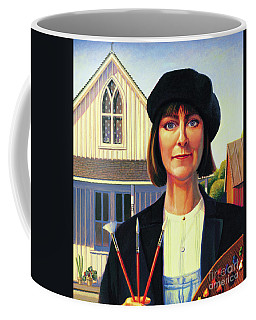 Robin Wood Self-portrait Coffee Mug
