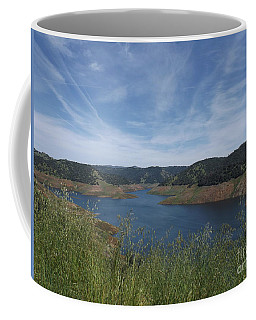 Coffee Mug featuring the photograph Robinson's Ferry Overlook  by Sara Raber