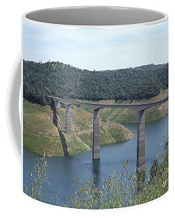 Coffee Mug featuring the photograph Robinson's Ferry Vista Point by Sara Raber