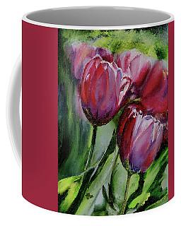 Rochelle's Springtime Tulips Coffee Mug