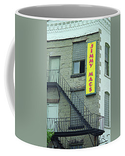 Coffee Mug featuring the photograph Rochester, New York - Jimmy Mac's Bar 2 by Frank Romeo