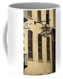 Coffee Mug featuring the photograph Rochester, New York - Jimmy Mac's Bar 3 Sepia by Frank Romeo