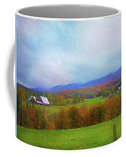 Coffee Mug featuring the photograph Rochester, Vermont Farm by John Rivera