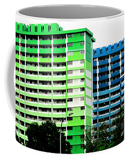 Rochor Center Singapore 2 Coffee Mug by Randall Weidner