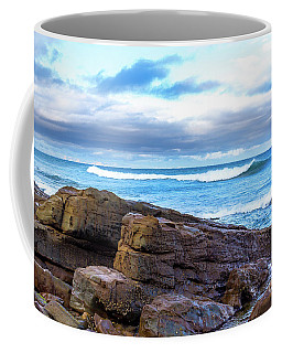 Rock And Wave Coffee Mug