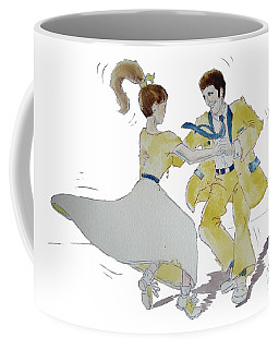 Rock Around The Clock Coffee Mug