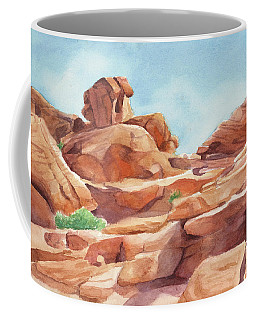 Rock Away Coffee Mug by Sandy Fisher