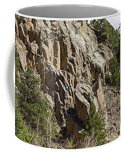 Coffee Mug featuring the photograph Rock Climbers Paradise by James BO Insogna