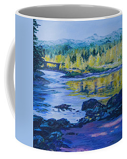 Rock Creek Fishing Hole Coffee Mug