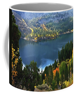 Rock Creek Lake In Fall Coffee Mug