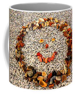 Rock Face On Granite Coffee Mug