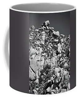 Rock Face Sandia Mountain Coffee Mug