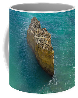 Rock Formation And The Sea In Algarve Coffee Mug