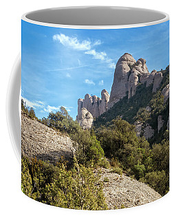 Rock Formations Montserrat Spain II Coffee Mug