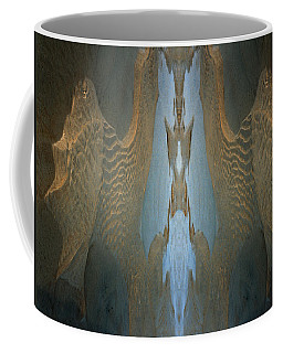 Coffee Mug featuring the photograph Rock Gods Seabird Of Old Orchard by Nancy Griswold
