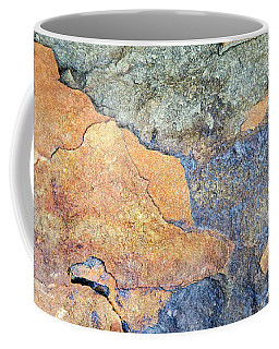 Coffee Mug featuring the photograph Rock Pattern by Christina Rollo