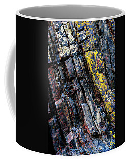 Coffee Mug featuring the photograph Rock Pattern Sc02 by Werner Padarin