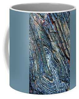 Coffee Mug featuring the photograph Rock Pattern Sc03 by Werner Padarin