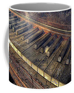 Rock Piano Fantasy Coffee Mug