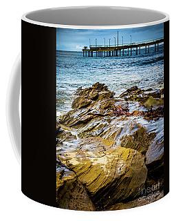 Rock Pier Coffee Mug by Perry Webster