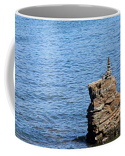 Rock Pile Coffee Mug by Living Color Photography Lorraine Lynch