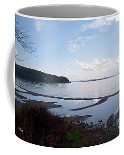 Coffee Mug featuring the photograph Rock Point North View Horizontal by Felipe Adan Lerma