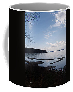 Coffee Mug featuring the photograph Rock Point North View Vertical by Felipe Adan Lerma