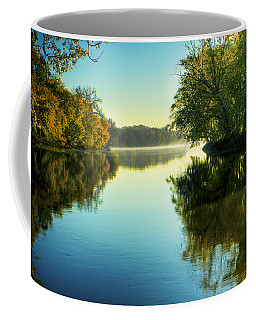 Rock River Autumn Morning Coffee Mug