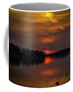 Rock River Setting Sun Coffee Mug