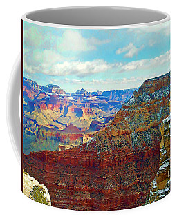 Coffee Mug featuring the photograph Rock Solid by Roberta Byram