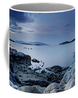 Rock Textures Coffee Mug by Michelle Meenawong