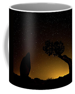 Coffee Mug featuring the photograph Rock, Tree, Friends by T Brian Jones