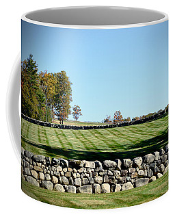 Rock Wall Lawn Coffee Mug