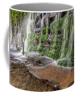 Rock Wall Waterfall Coffee Mug