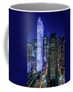 Rockefeller At Night Coffee Mug
