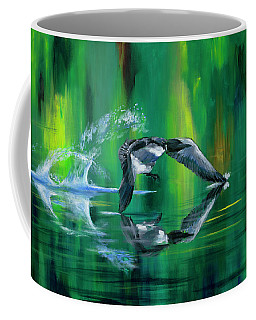 Rocket Feathers Coffee Mug