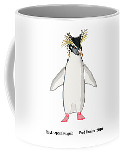 Rockhopper Penguin Coffee Mug