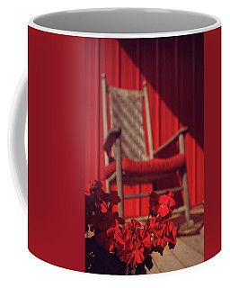 Coffee Mug featuring the photograph Rockin' Red by Jessica Brawley