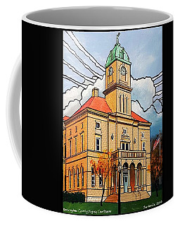 Rockingham County Courthouse Coffee Mug by Jim Harris
