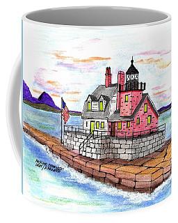 Rockland Breakwater Light Coffee Mug