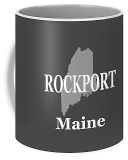 Coffee Mug featuring the photograph Rockport Maine State City And Town Pride  by Keith Webber Jr