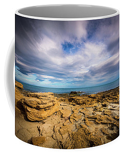 Rocks And Clouds. Coffee Mug
