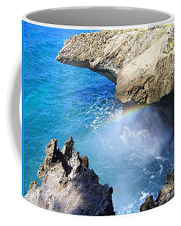 Rocks And Rainbow Coffee Mug by Susan Lafleur