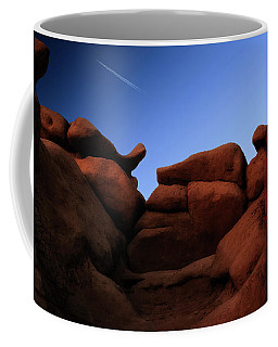 Rocks And Sky At Goblin Valley  Utah Coffee Mug