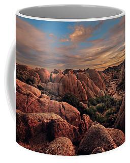 Rocks At Sunrise Coffee Mug