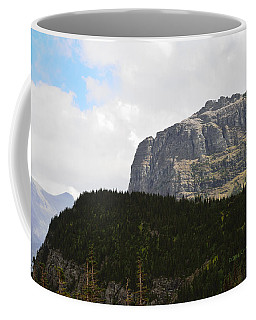 Rocks Clouds And Trees Coffee Mug by Kae Cheatham