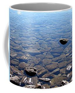 Rocks In Calm Waters Coffee Mug
